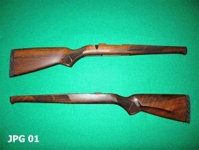 pažba Mauser M98 hunting class II