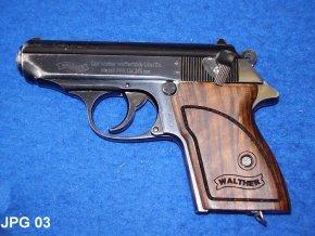 pažbičky Walther PPK logo