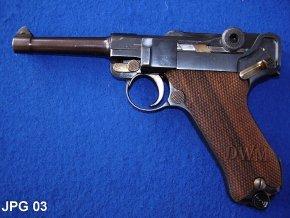 pažbičky Luger P08