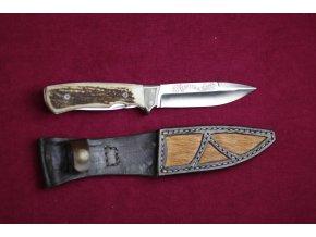 Nůž pevný + pilka, párák, střenka paroh