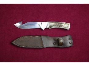 Nůž pevný s háčkem