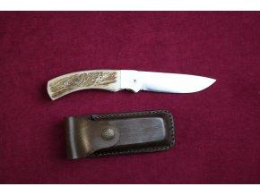 Nůž zavírací, střenka paroh