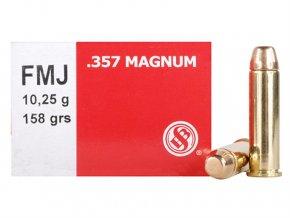 Náboj kulový 357 Mag. 10,2g FMJ