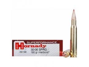 naboj kulovy hornady superformance 30 06 spr 180gr interbond