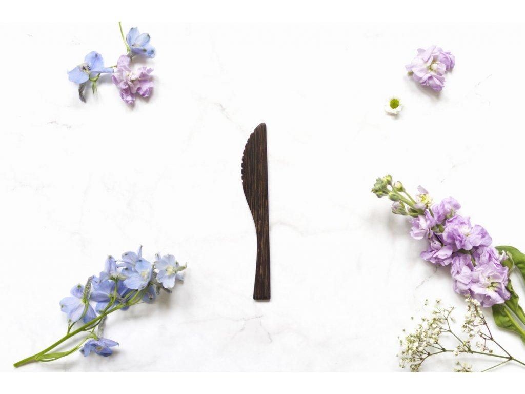 zkokosu nůž z ebenového dřeva