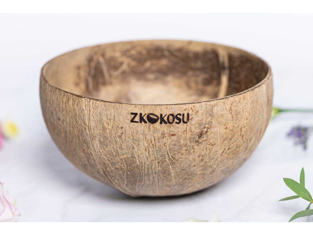 zKokosu Kokosová miska NATURAL JUMBO L