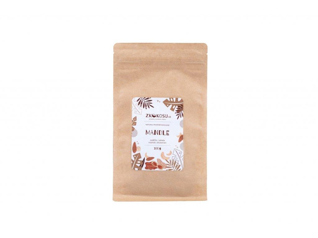 zkokosu mandle 100 g