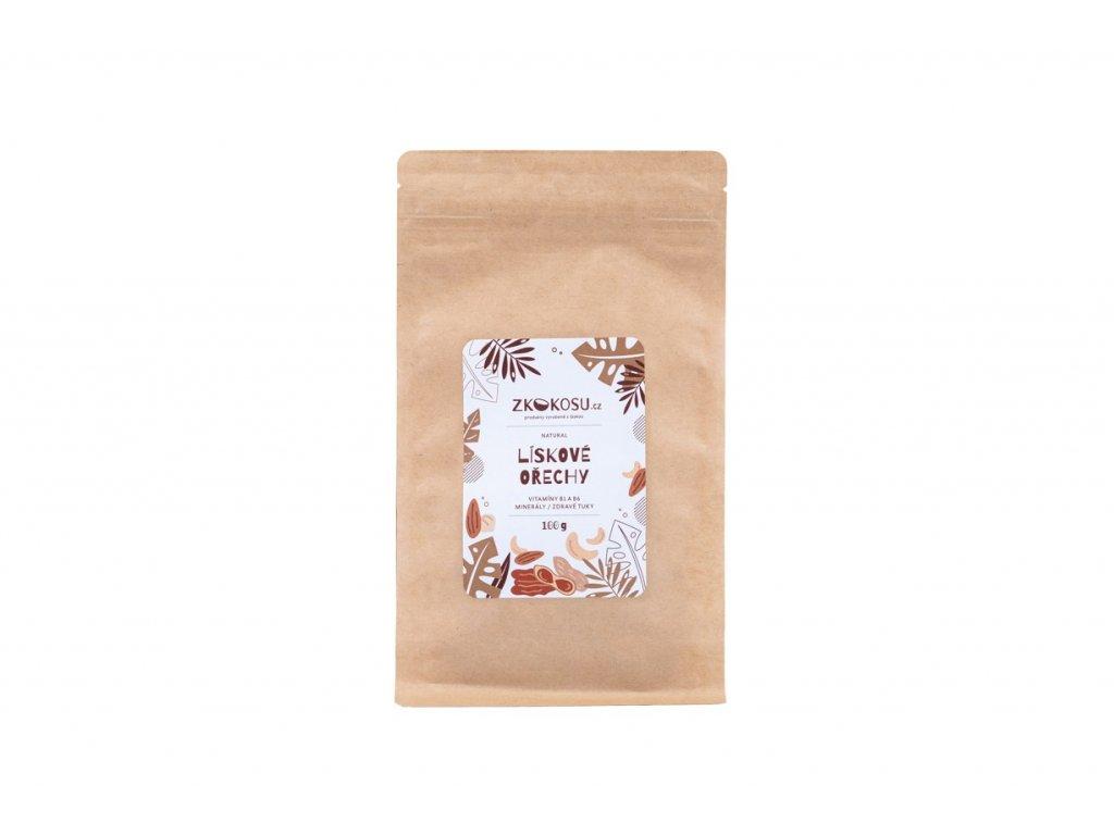 zkokosu liskove orechy 100 g