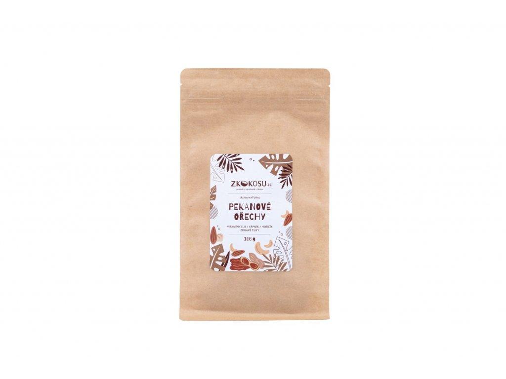 zkokosu pekanove orechy 100 g