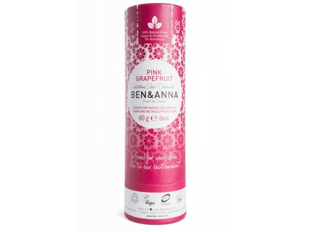 ben anna tuhy deodorant 60 g ruzovy grapefruit