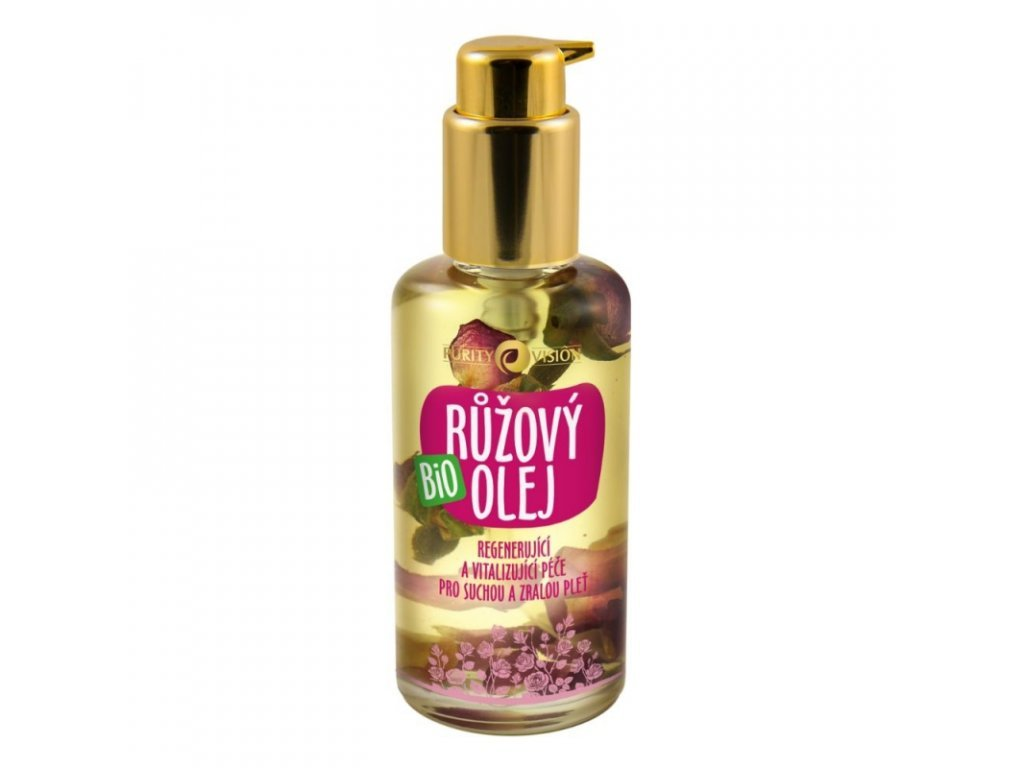 purity vision bio ruzovy olej 100 ml