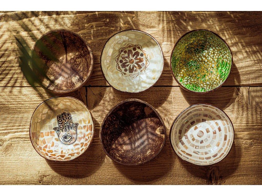 kokosová miska Boho 2