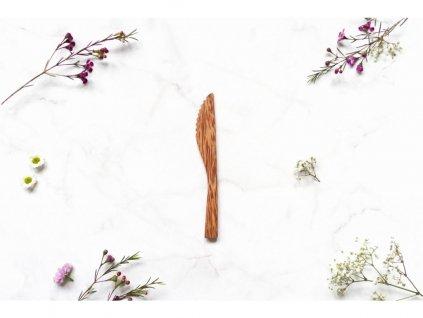 zkokosu nůž z kokosového dřeva