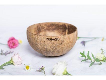 zkokou kokosova miska natural
