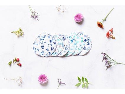 zkokosu odličovací tamponky na tvář bavlna