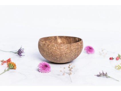 zkokosu kokosová miska natural bílá m