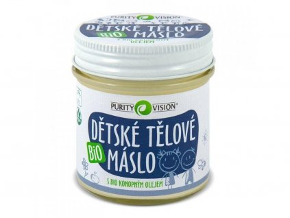 purity vision detske telove maslo bio 120 ml