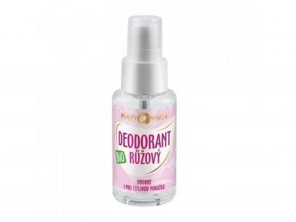 purity vision ruzovy deodorant bio 50 ml