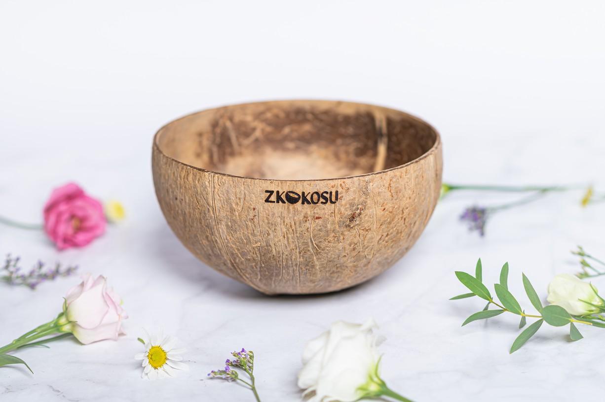Levně zKokosu Kokosová miska NATURAL JUMBO L