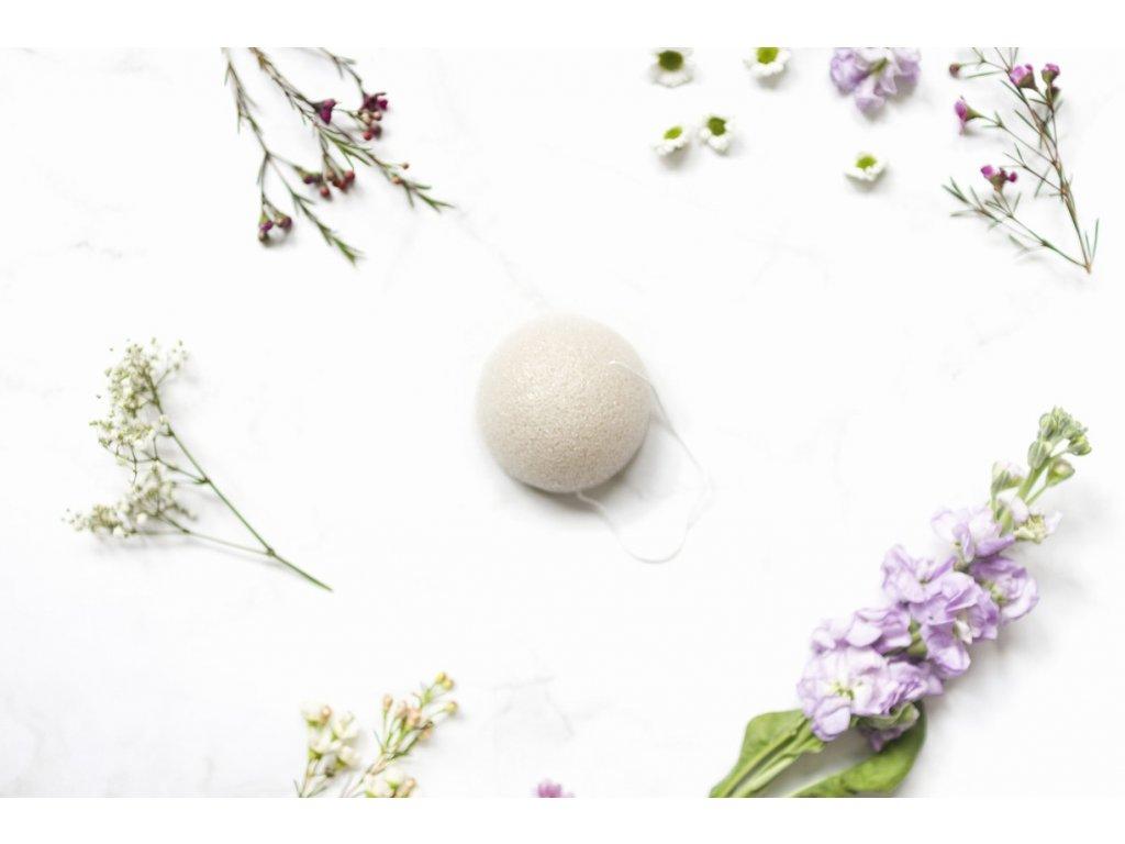 zKokosu Konjaková houbička NATURAL Kusů: 1