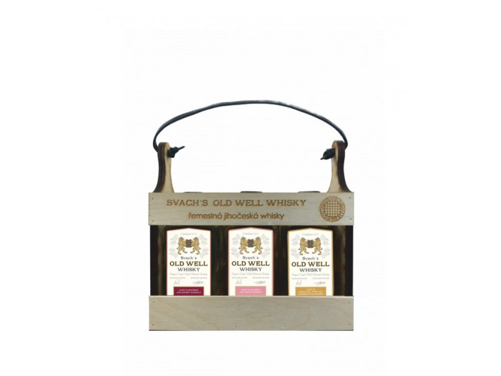Dárková sada 6 x 0,05 l whisky Svach´s Old Well