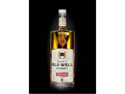 Svach´s Old Well whisky stařena v sudu po portském víně 46,3% alc.