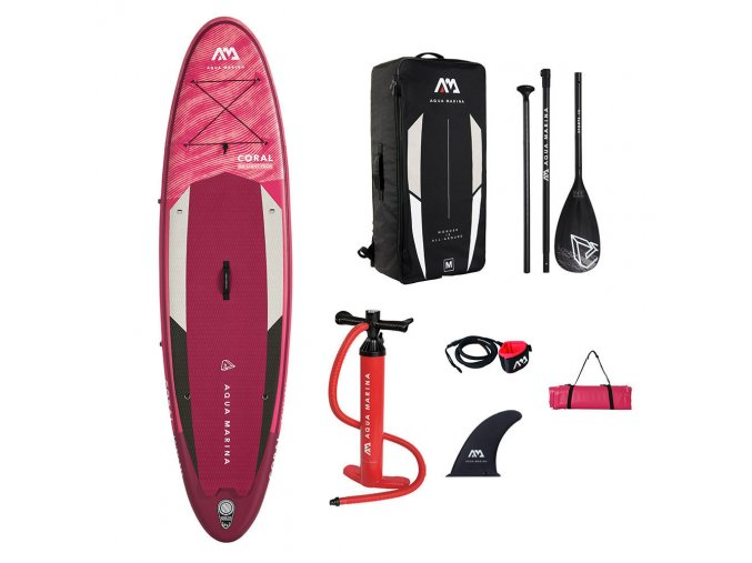 12061328 paddleboard Aqua Marina Coral Package