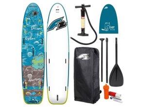 f2 travel windsurf petrol 12 5 paddleboard s padlem cz
