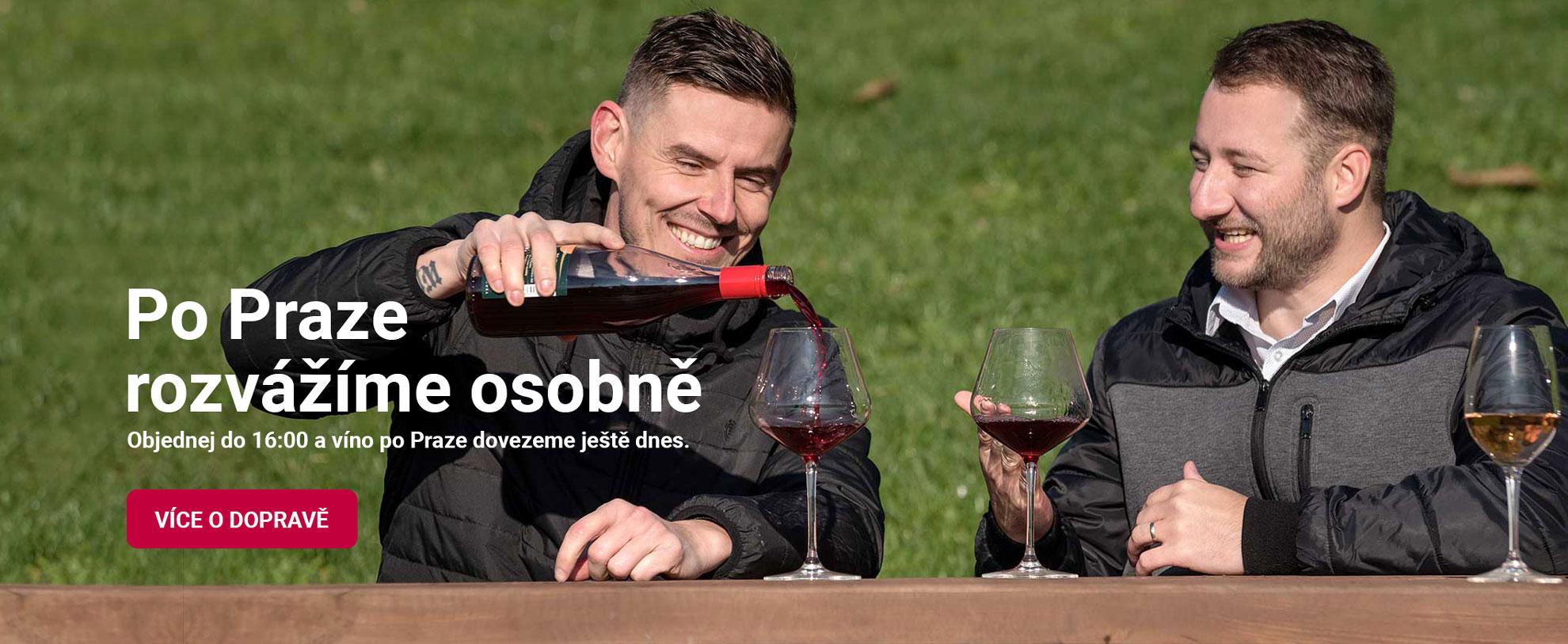 Rozvoz vína nejen Praha | Zkusvíno.cz | e-shop s kvalitními víny