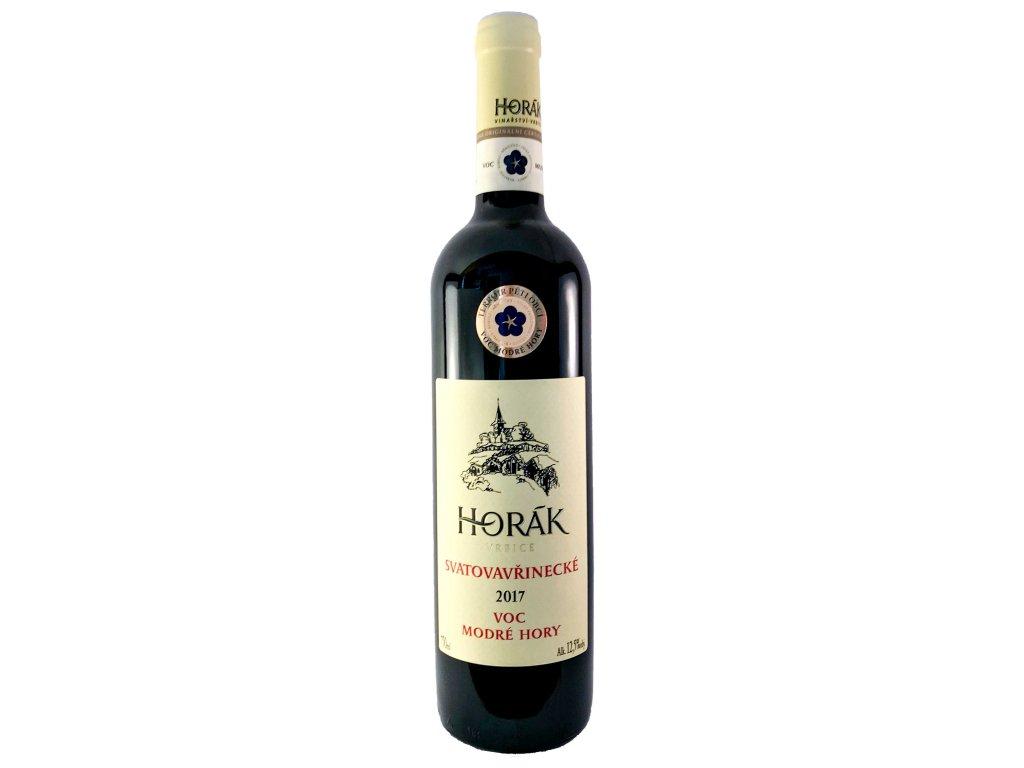 Horák - Svatovavřinecké V.O.C. 2017 0,75l | E-shop s kvalitními a vyzkoušenými víny | Zkusvino.cz