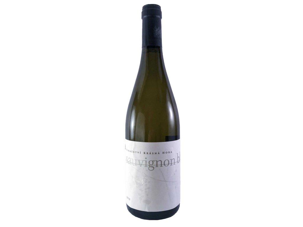 Krásná hora - Sauvignon Blanc 2018 0,75l   E-shop s kvalitními a vyzkoušenými víny   Zkusvino.cz