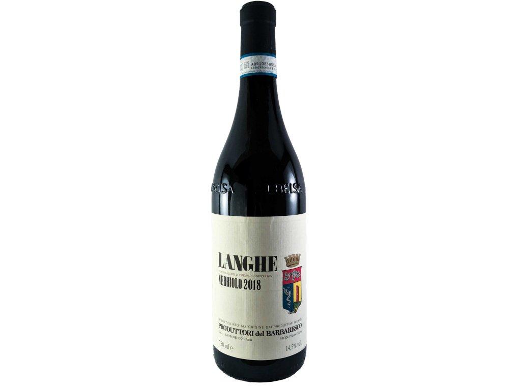 Produttori del Barbaresco - Langhe Nebbiolo DOC 2018 0,75l | E-shop s kvalitními a vyzkoušenými víny | Zkusvino.cz