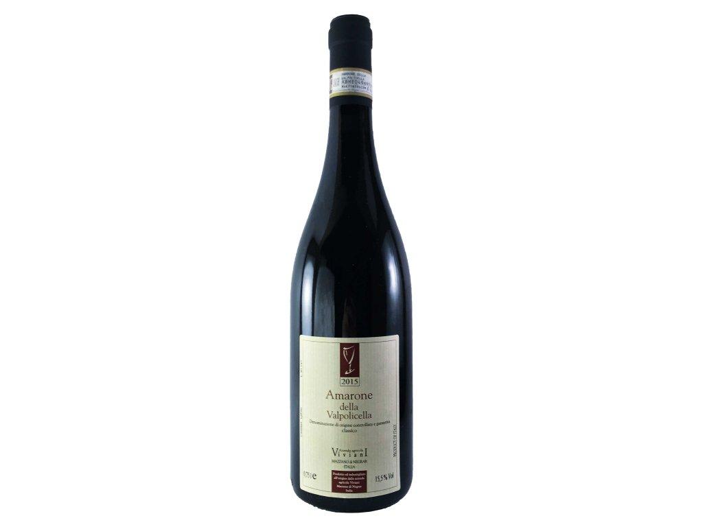 Claudio Viviani - Amarone Classico 2015 0,75l | E-shop s kvalitními a vyzkoušenými víny | Zkusvino.cz