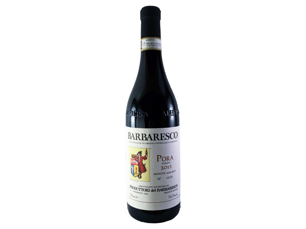 "Produttori del Barbaresco - Barbaresco DOCG Riserva ""Pora"" 2015 0,75l   E-shop s kvalitními a vyzkoušenými víny   Zkusvino.cz"