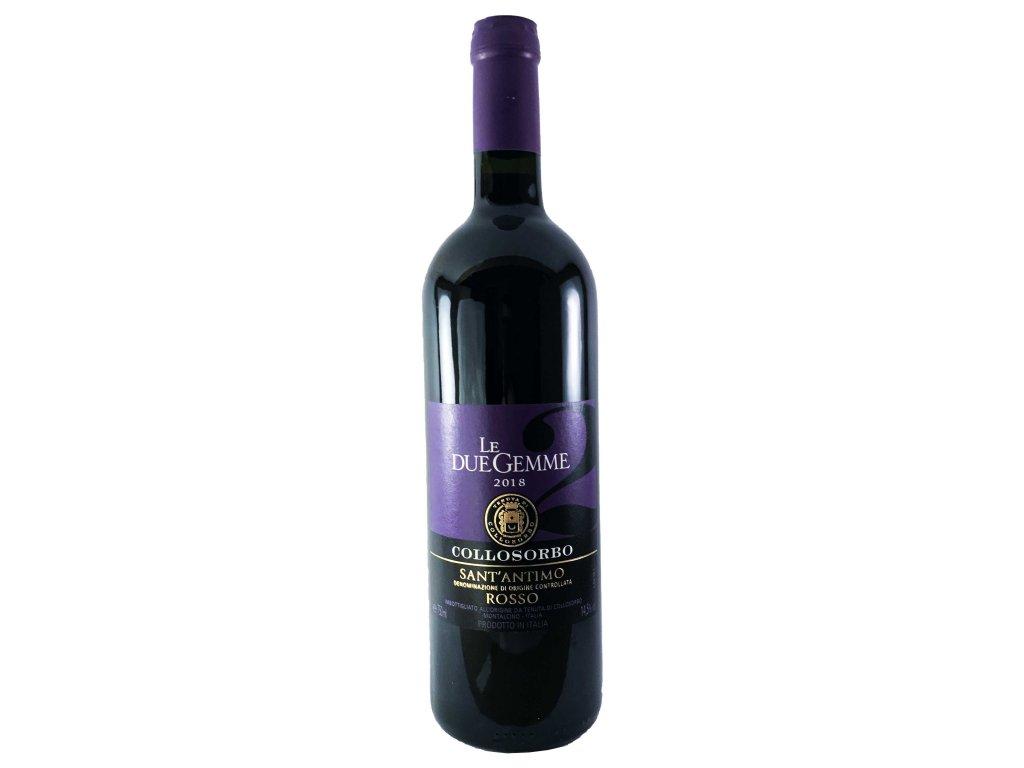 Tenuta di Collosorbo - Le Due Gemme 2018 0,75l   E-shop s kvalitními a vyzkoušenými víny   Zkusvino.cz