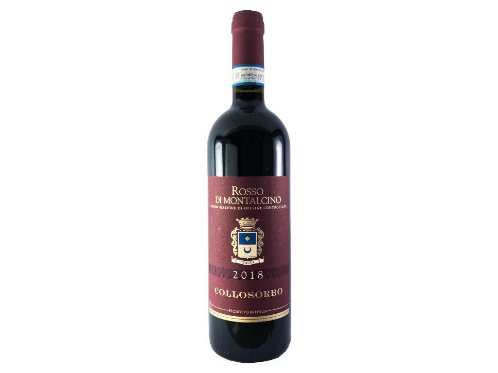 Tenuta di Collosorbo - Rosso di Montalcino 2018 0,75l | E-shop s kvalitními a vyzkoušenými víny | Zkusvino.cz