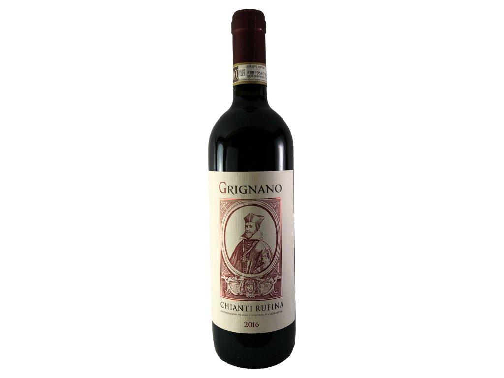 Fattoria di Grignano - Chianti Rufina DOCG 2016 0,75l   E-shop s kvalitními a vyzkoušenými víny   Zkusvino.cz