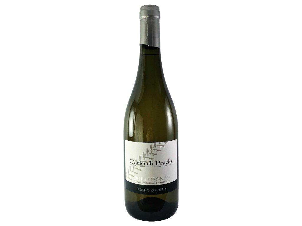 Carlo di Pradis - Pinot Grigio ISONZO 2019 0,75l | E-shop s kvalitními a vyzkoušenými víny | Zkusvino.cz