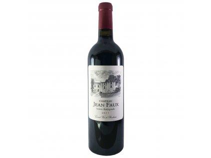 Chateau Jean Faux - SAINTE RADEGONDE Rouge 2011 0,75l | E-shop s kvalitními a vyzkoušenými víny | Zkusvino.cz