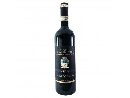Tenuta di Collosorbo - Brunello di Montalcino 2015 0,75l | E-shop s kvalitními a vyzkoušenými víny | Zkusvino.cz