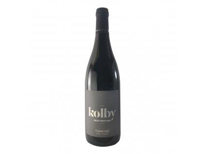 Kolby - Cuvée Red (Cabernet Sauvignon, Merlot) 2018 0,75l | E-shop s kvalitními a vyzkoušenými víny | Zkusvino.cz