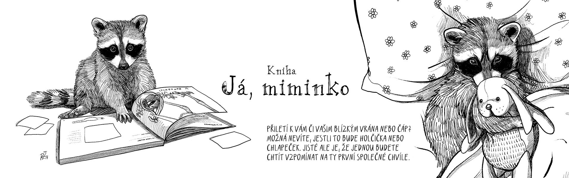 Kniha Já, miminko - vzpomínkové album pro děti