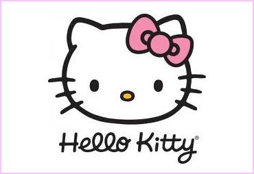 Dětské náušnice Hello Kitty