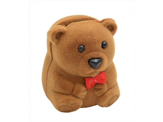 Dárková krabička - medvídek hnědý