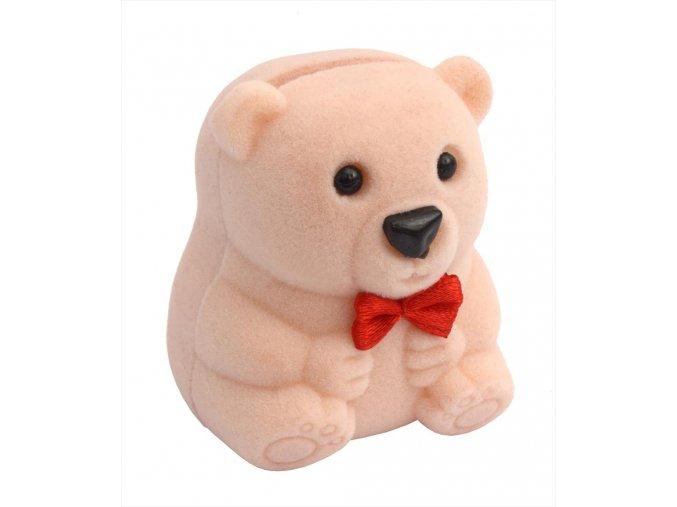 Dárková krabička - medvídek béžový