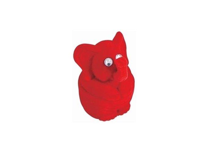 Dárková krabička - slůně červené