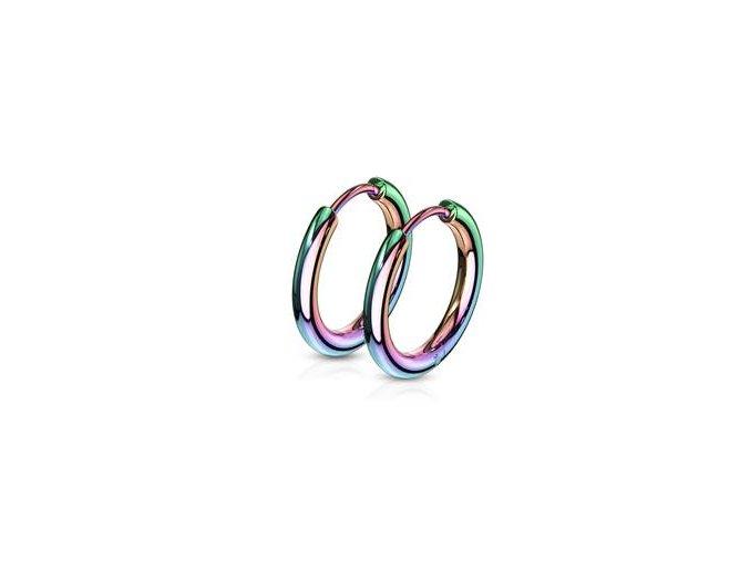 duhove ocelove nausnice kruhy 15 mm 058550 pd