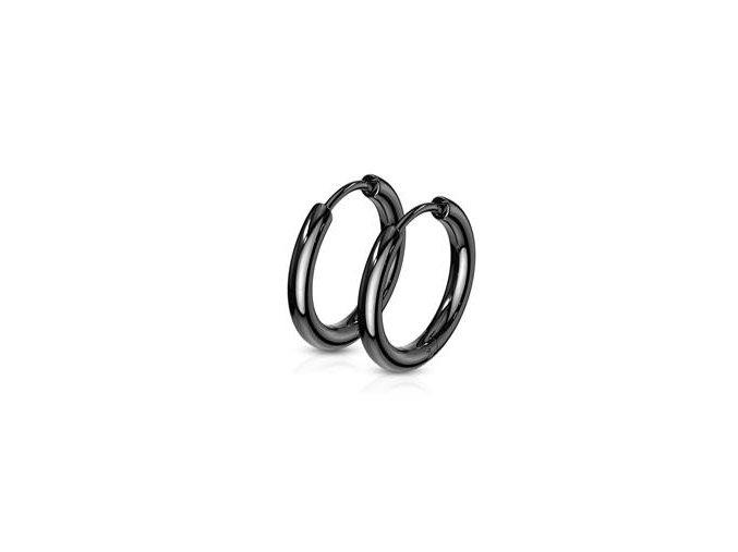 cerne ocelove nausnice kruhy 15 mm 058552 pd