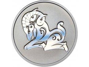 Znamení zvěrokruhu BERAN - stříbrná medaile