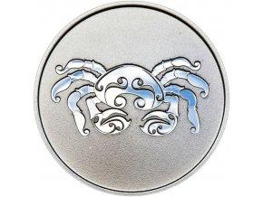 Znamení zvěrokruhu RAK - stříbrná medaile
